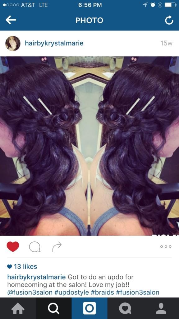 hair by krystal marie