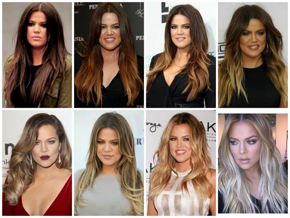 Kardashian Collage by @VixenHair