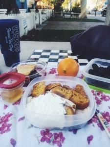 Be charming beyond reason. Have a picnic downtown.